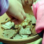 chleb opłatkowy kleszcze piekarnicze